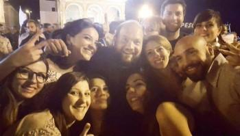 gallipoli minerva festa con fans