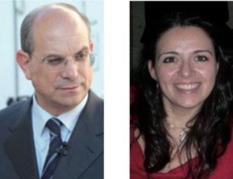 Il sindaco Nisi e l'assessore Campa
