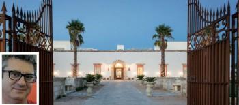 L'antica casa di rappresentanza riportata al suo antico spledore è diventata un resort di lusso. Nella fotina lo storico Luigi Bidetti