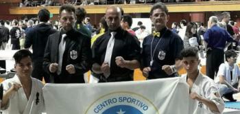 Da sinistra, Andrea Ciricugno, Lando Padaqua, Samuele Casto, Luciano Centonze e Riccardo Gatto