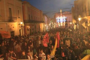 Casarano, marcia Libera 24.5.2015