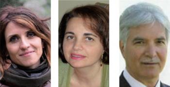 Da sinistra Silvia Romano, Alessandra Moscatello e Daniele Ria