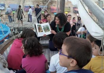 Fabiana Renzo incontra i piccoli ospitit