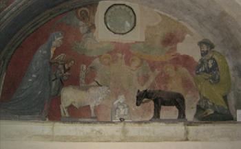 Il presepe custodito nella chiesa di Santa Caterina d'Alessandria a Galatina