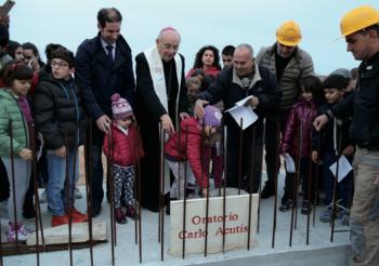 L'apertura ufficiale del cantiere per l'oratorio tanto atteso