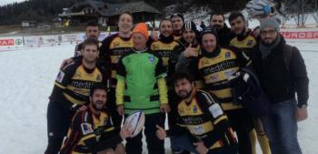 Torneo internazionale di Snow rugby sulle nevi di Tarvisio