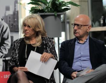 Valentina Bodini con Lucio Giannone