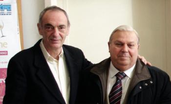 Da sinistra Enrico Muscetra e Gino Vallone