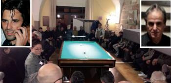 """Il circolo ricreativo """"LuRè"""" e, da sinistra Luca e Luigi Renna"""