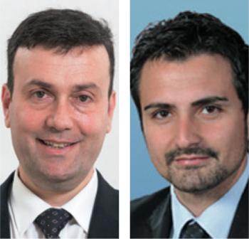 Il sindaco Massimo Lecci e assessore alle Attivita produttive Graziano Greco