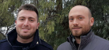 Luca De Simone e Gabriele Indennitate