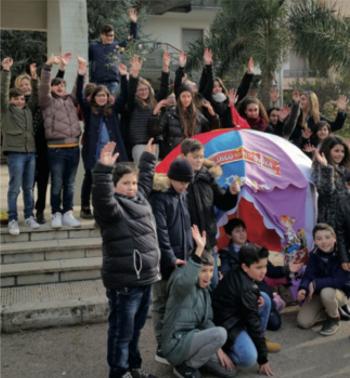 bambini festa della pace