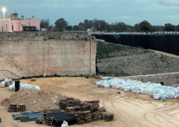 L'impianto della Rei in contrada Vignali - Castellino