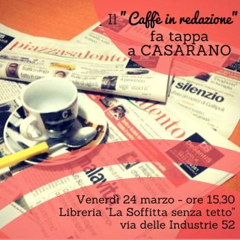 Il Caffe fa tappa a Casarano