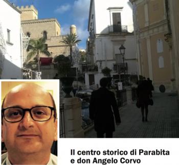 Il centro storico di Parabita e don Angelo Corvo