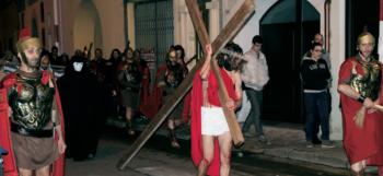 La Passione vivente del 2014 foto Federica Pano