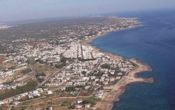 La costa tra Mancaversa e Torre Suda