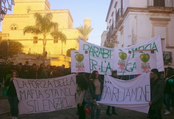 Marcia per la legalita - parabita 10.1.16 - foto Parabitalife