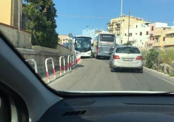 gallipoli lungomare marconi bus di fronte