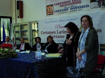 Il Certamen del Liceo Classico di casarano (edizione 2013)