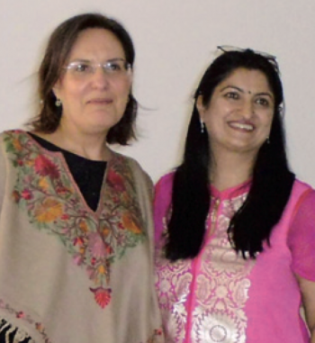 Le due dirigenti scambio nardo india