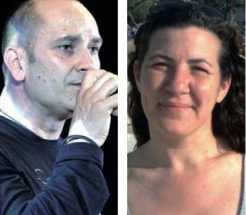 """Lucia De Paolis, presidente dell'associazione """"Gioia nel cuore"""" , e Tommaso Zuccaro"""