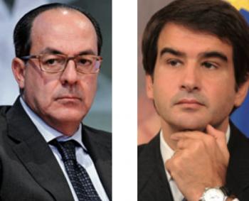 Da sinistra, Paolo De Castro e Raffaele Fitto