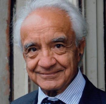 Il Prof. Antonino Zichichi, Presidente della WFS (World Federation of Scientists), curatore della mostra