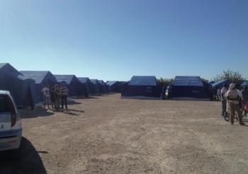 Il campo a Boncuri lo scorso anno