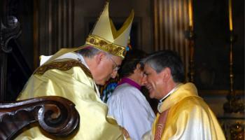Mons. Fernando Filograna il giorno della sua ordinazione a vescovo