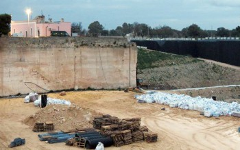 L'impianto di contrada Vignali-Castellino