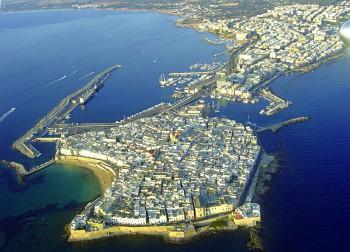 vista aerea di gallipoli foto di Marcello Quarta (1)