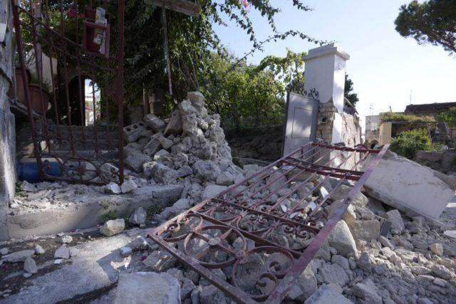 Terremoto a Ischia: il soggiorno degli anziani di Gallipoli si ...