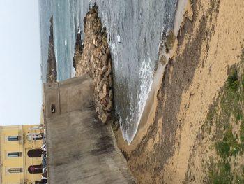 Spiaggia della purit gallipoli tira un sospiro di for Setacciavano la sabbia dei fiumi