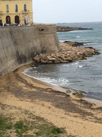 Gallipoli nominato esperto per fenomeno erosivo alla for Setacciavano la sabbia dei fiumi