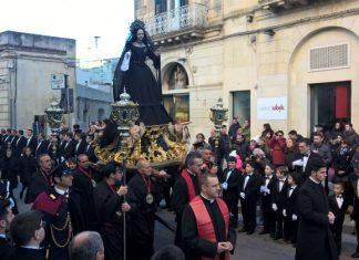 Processione venerdì santo Maglie