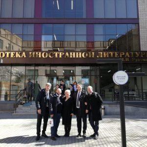 Notte della Taranta 2019_visita istituzionale in Russia