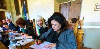 Merletto italiano patrimonio Unesco_la firma del protocollo d'intesa