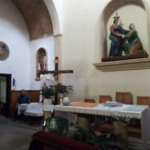 L'interno del santuario