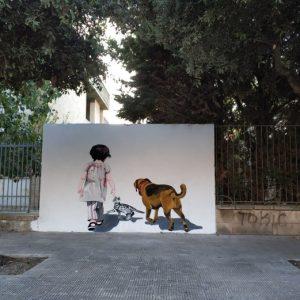Il murales di Stefano Bergamo a Nardò