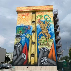 Il murales di Tommaso Chiffi a Nardò