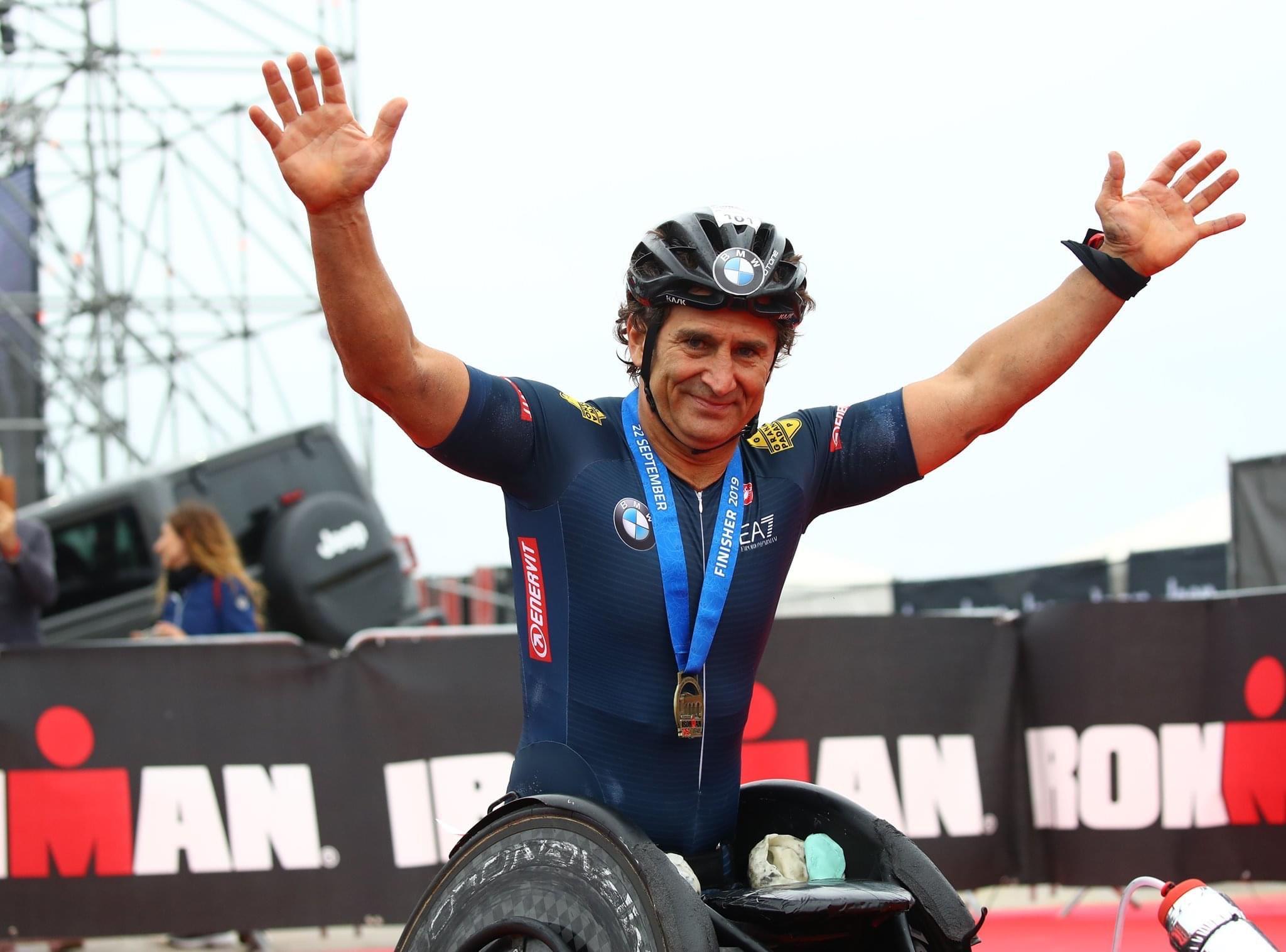 Sport, il campione Alex Zanardi in Salento: da Porto Cesareo a ...